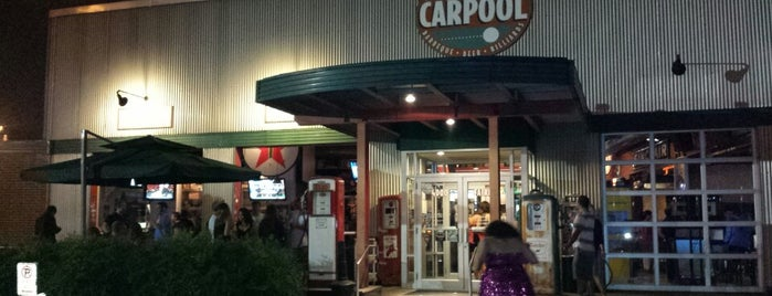 Carpool is one of Local Redskins Rally Bars.