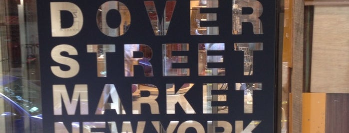Dover Street Market is one of NYC SHOPS.