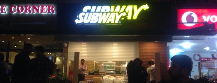 Subway is one of Adana Gece Hayatı Turgut Özal Mado Yakını.