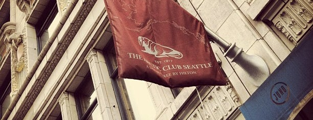 The Arctic Club Seattle - a DoubleTree by Hilton Hotel is one of Northwest Washington.