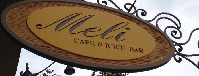 Meli Cafe & Juice Bar is one of To-do eat.