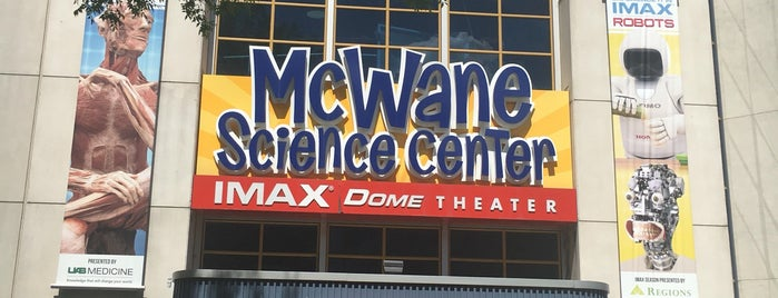 McWane Science Center is one of Steel City.