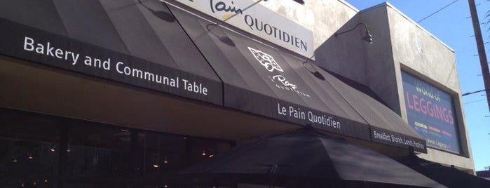 Le Pain Quotidien is one of Being healthy.