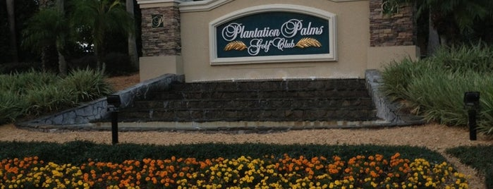 Plantation Palms Golf Club is one of Creative Innovations Cause Related Advertising.