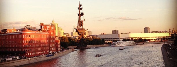 Москва-река is one of Moskova 1.