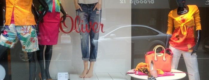 S. Oliver Store is one of Shopping.