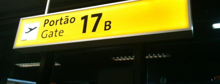 Portão 17A / 17B / 17C is one of Aeroporto de Guarulhos (GRU Airport).