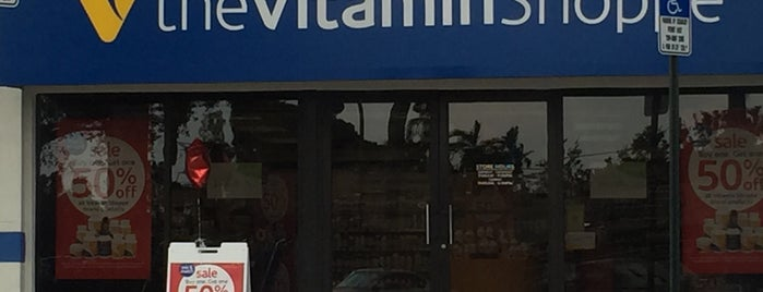 The Vitamin Shoppe is one of Must-visit Food and Drink Shops in Boca Raton.