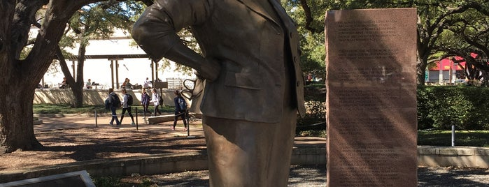 Barbara Jordan Statue is one of 40 Acres Self-Guided Tour.