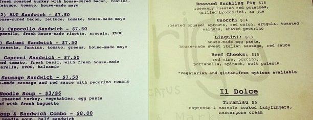 Americatus New-World Italian is one of 5280 Best New Restaurants 2013.