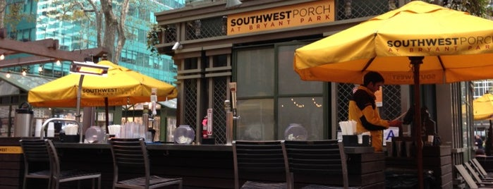 Southwest Porch at Bryant Park is one of USA NYC MAN Midtown East.