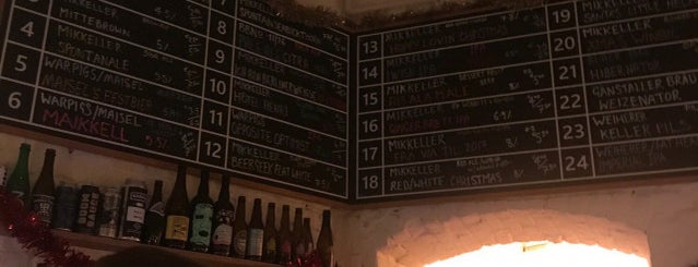 Mikkeller Bar is one of Berlin.