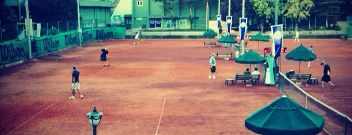 Ankara Tenis Kulübü is one of my favorites.