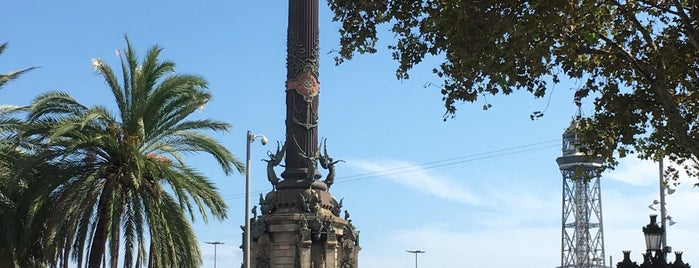 Cristof Colomb Square is one of Barcelona.