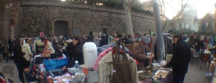 Flea Market Barcelona is one of BCN Shopping.