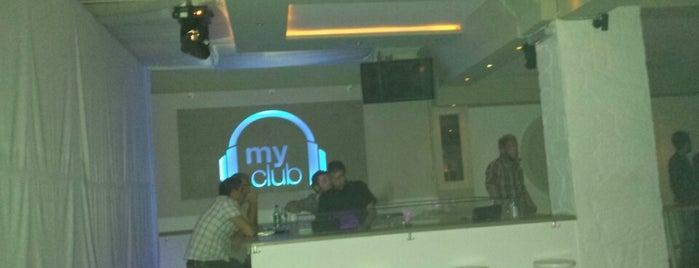 Myclub is one of Paros Top.