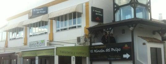 El Rincón del Pulpo is one of Restaurantes.