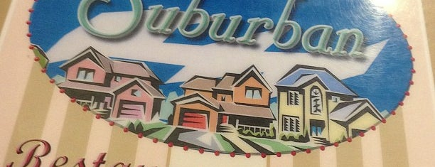 Suburban House Diner is one of Eats.