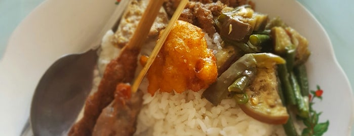 Warung makan Sari Mertha is one of Bali Culinary.