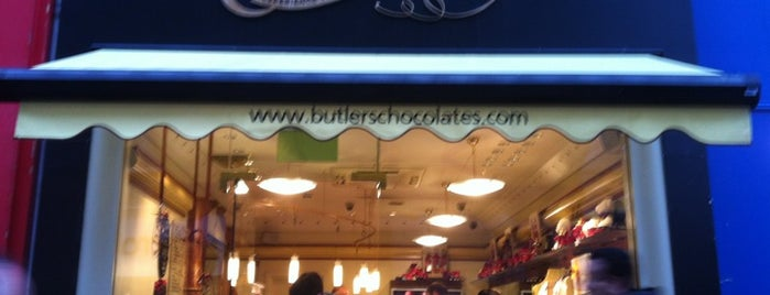Butlers Chocolate Café is one of Dublin.