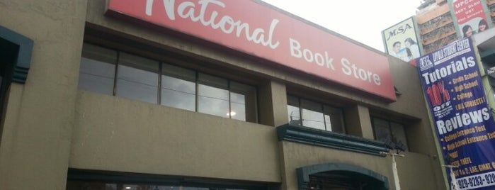 National Book Store is one of Quezon City.