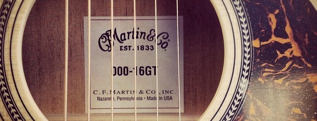 Martin Guitar is one of Roadside Discoveries.