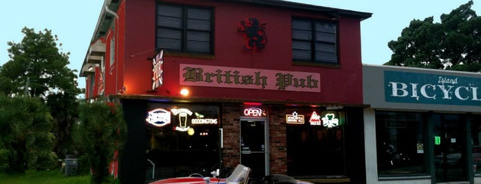The British Pub is one of My St. Augustine Favorites.