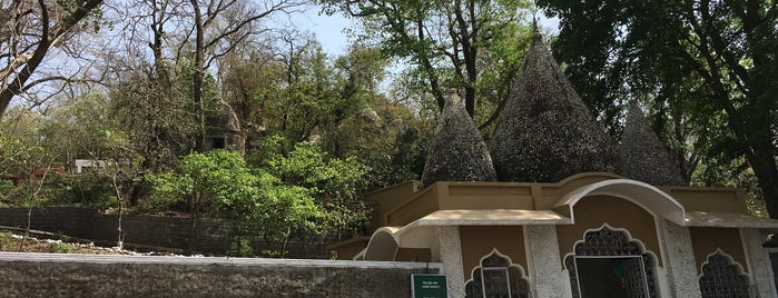 Beatle's Ashram is one of India places to visit.
