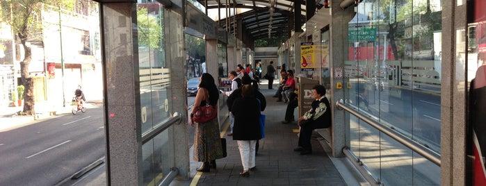 Metrobús Sonora is one of Mis lugares en México DF.