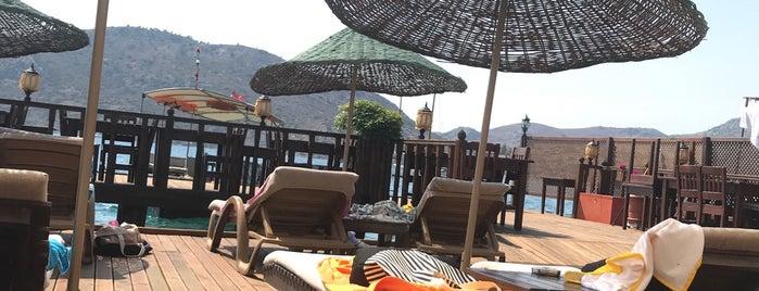 Veranda Hotel & Restaurant Bozburun is one of Otel.