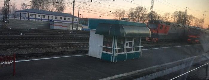 Ж/Д станция Ижморская is one of Транссибирская магистраль.