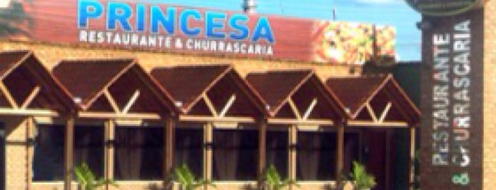 Princesa Restaurante e Churrascaria is one of Lugares.