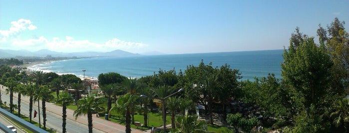 Nergiz Hotel Sand & City is one of Alanya Otelleri.