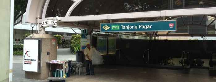Tanjong Pagar MRT Station (EW15) is one of Transport SG.