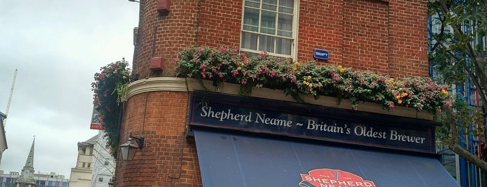 East India Arms - Shepherd Neame is one of London Pint.