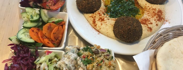 MEZZE hummus & falafel is one of To eat.