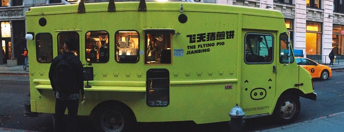 The Flying Pig Jianbing is one of The New Yorkers: Ladies Who Lunch.