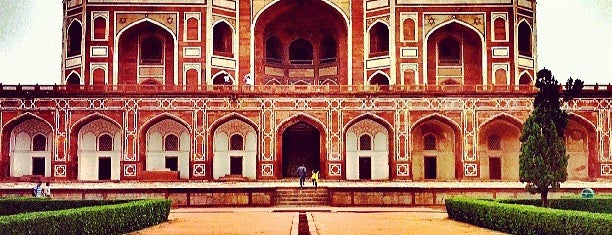 Humayun's Tomb is one of Our India Trip 2012.