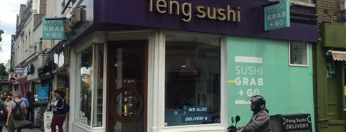 Feng Sushi is one of London food.