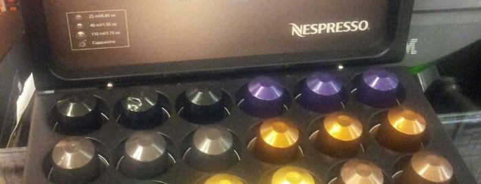 Nespresso is one of Cafés de Sampa.