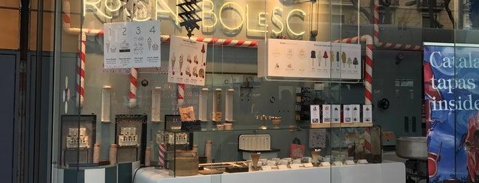 Rocambolesc is one of M&M Barcelona centre.