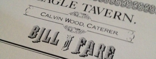 Eagle Tavern is one of Highly recommended <3.