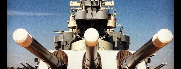 Battleship NORTH CAROLINA is one of Explore NC.