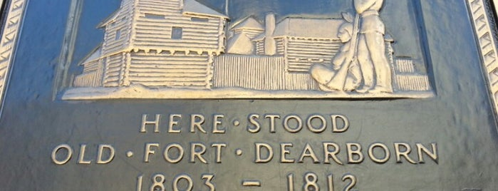 Fort Dearborn is one of Guide to Chicago's best spots.