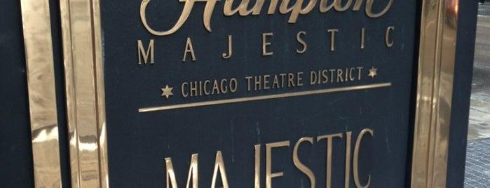 Hampton Inn Majestic Chicago Theatre District Hotel is one of Orte, die Aaron gefallen.