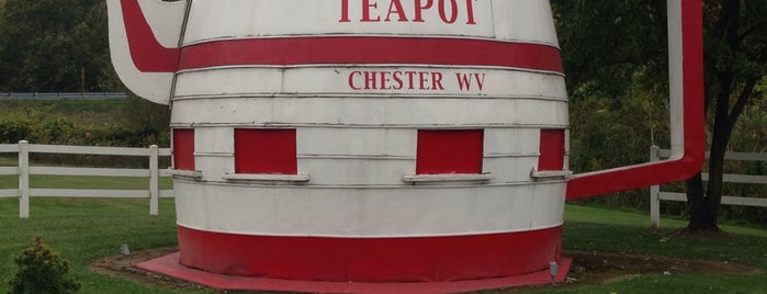 World's Largest Teapot is one of Wild and Wonderful West Virginia.