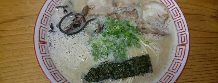 継ぎ足しとんこつ 二刀流 is one of ramen.