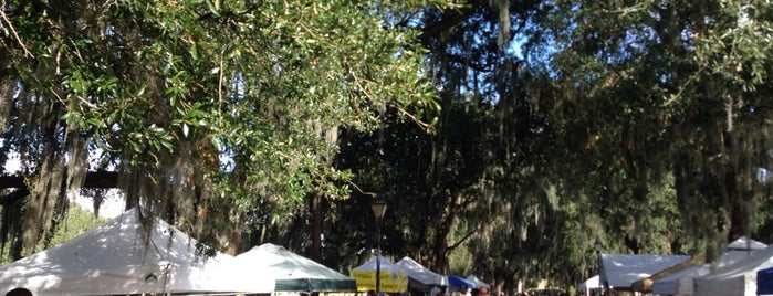 Forsyth Farmers Market is one of Travel Guide to Savannah.