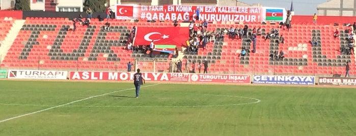 Turgutlu 7 Eylül Stadyumu is one of themaraton.