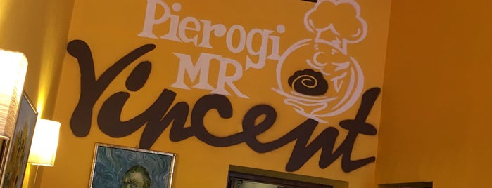 Pierożki u Vincenta is one of The 15 Best Cozy Places in Krakow.